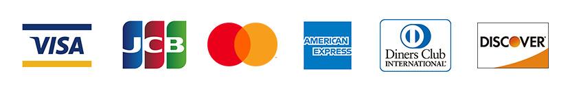 クレジットカード使用可能種類