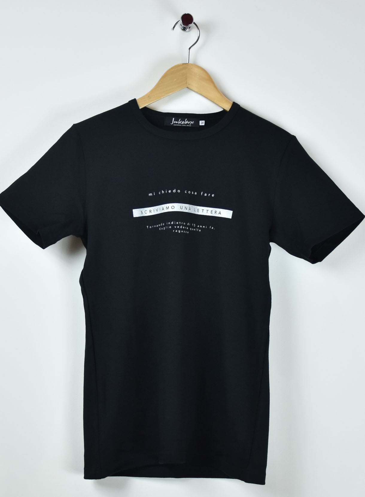 JUKEBOX 国産スムースTシャツ(SCRIVIAMO)