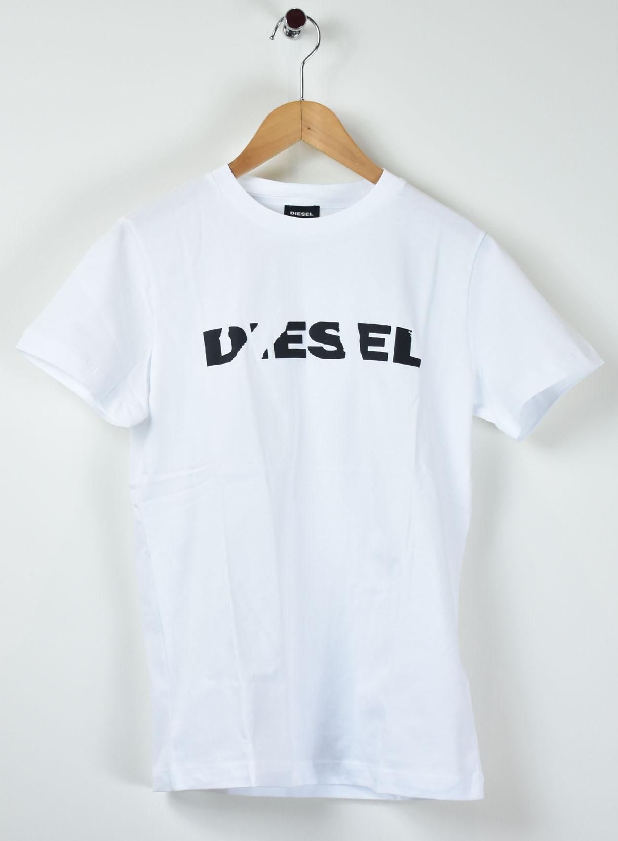 DIESEL 3DスラッシュロゴTシャツ