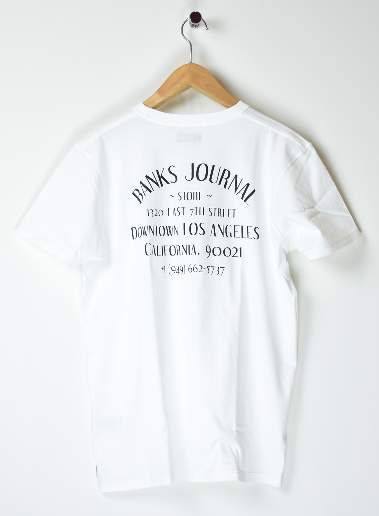 BANKS DOWNTOWN Tシャツ