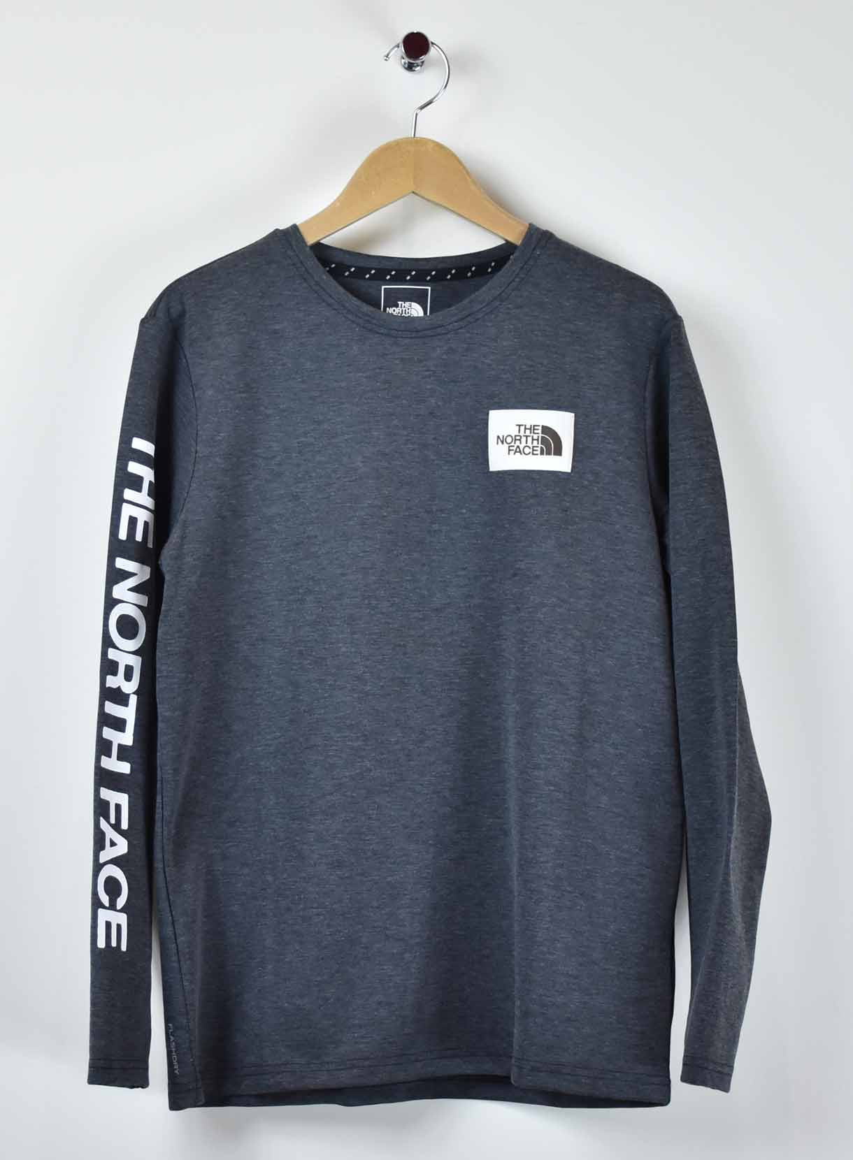 THE NORTHFACE 袖プリントTシャツ