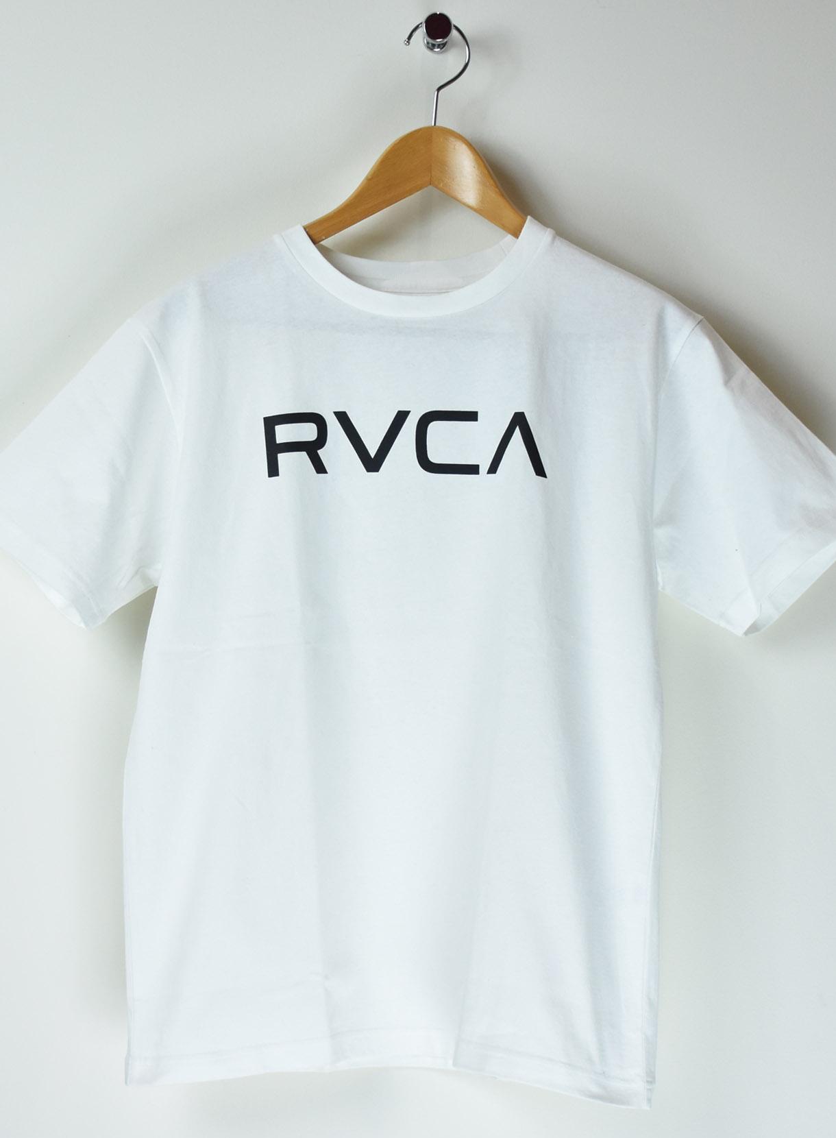 RVCA ロゴTシャツ