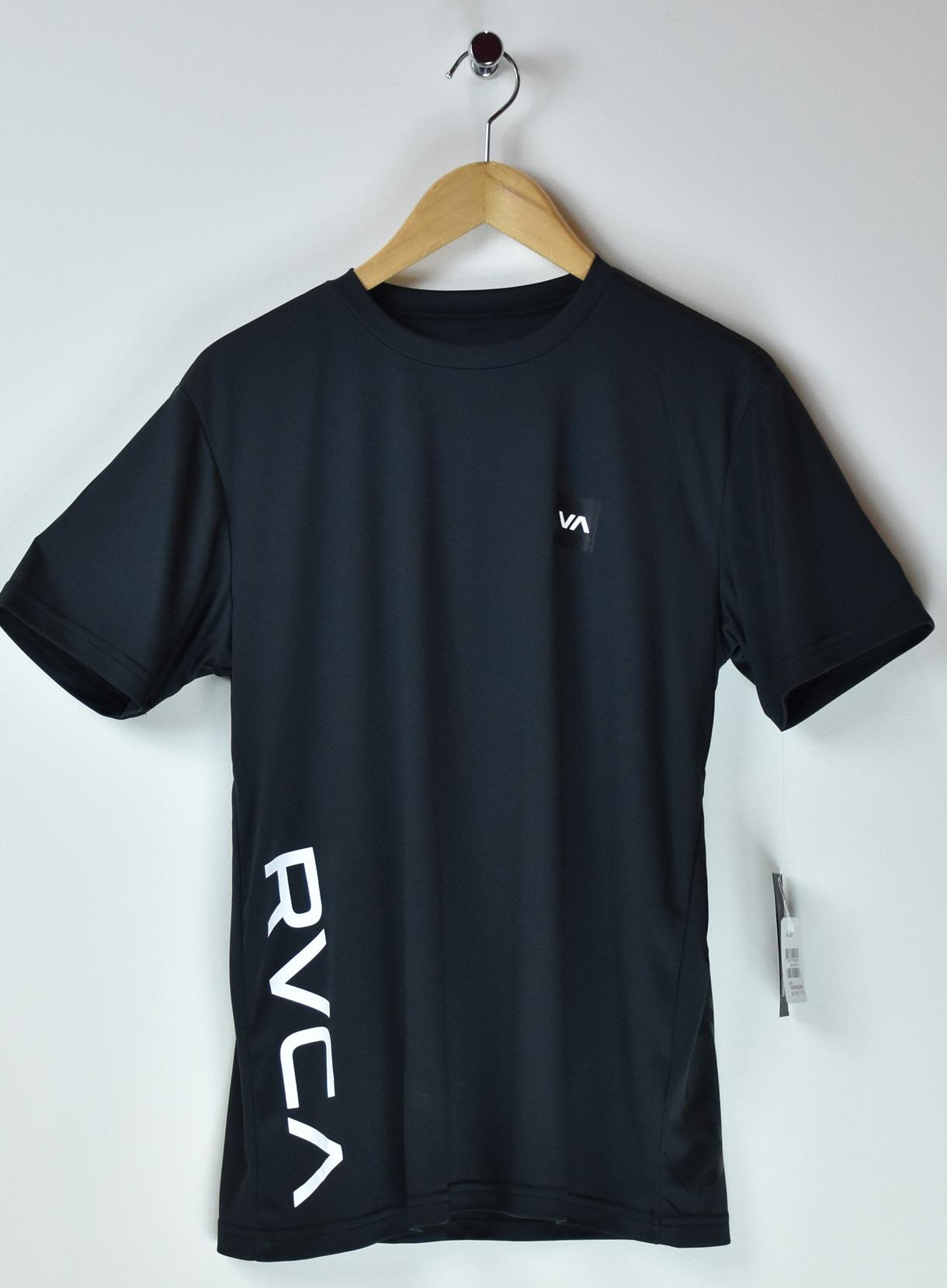 RVCA スポーツライン サイドロゴTシャツ