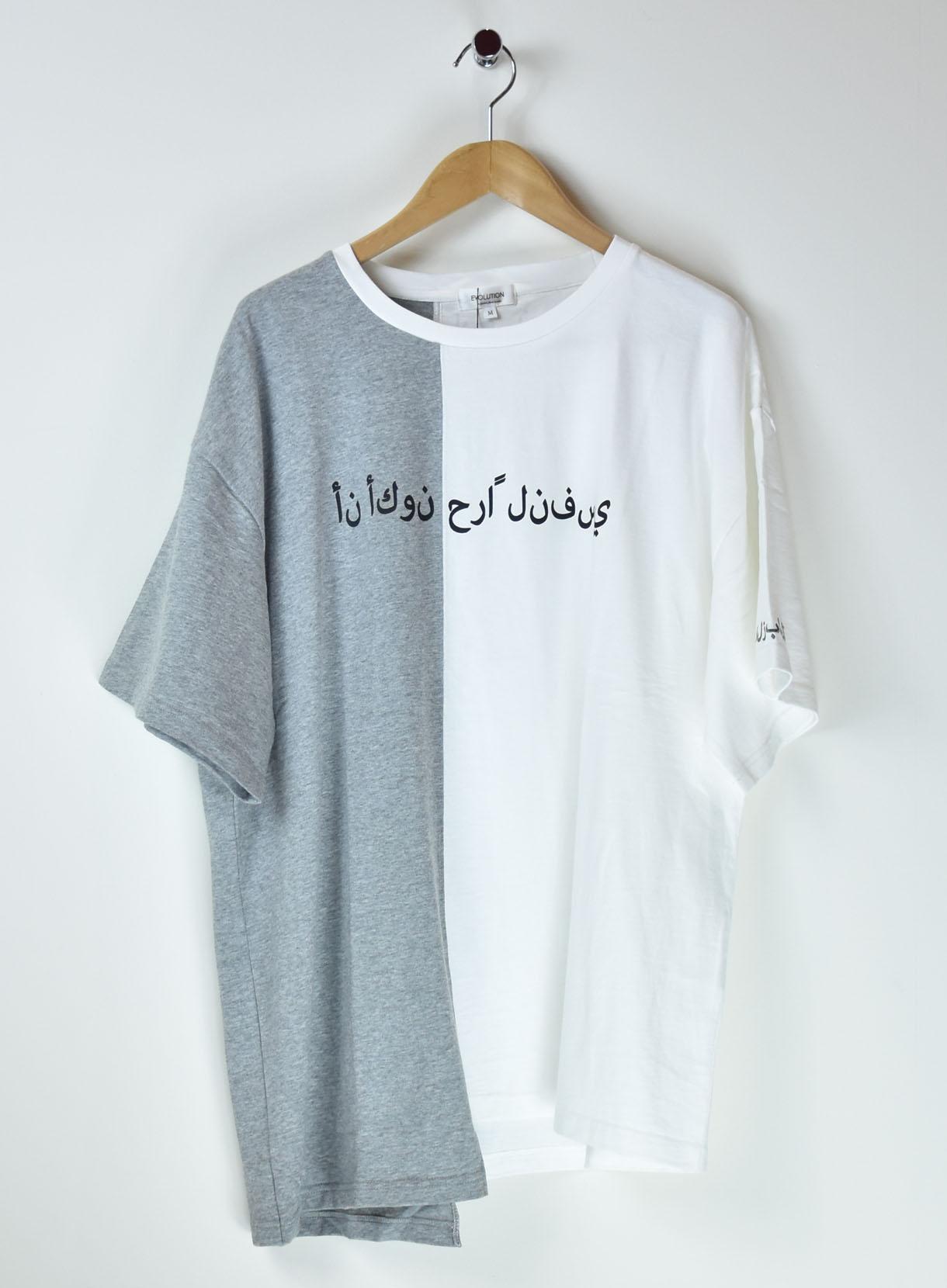 EVOLUTIONアシンメトリールーズTシャツ