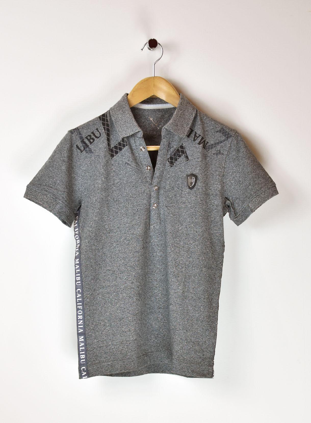VIOLAショルダーロゴ×Sテープポロシャツ