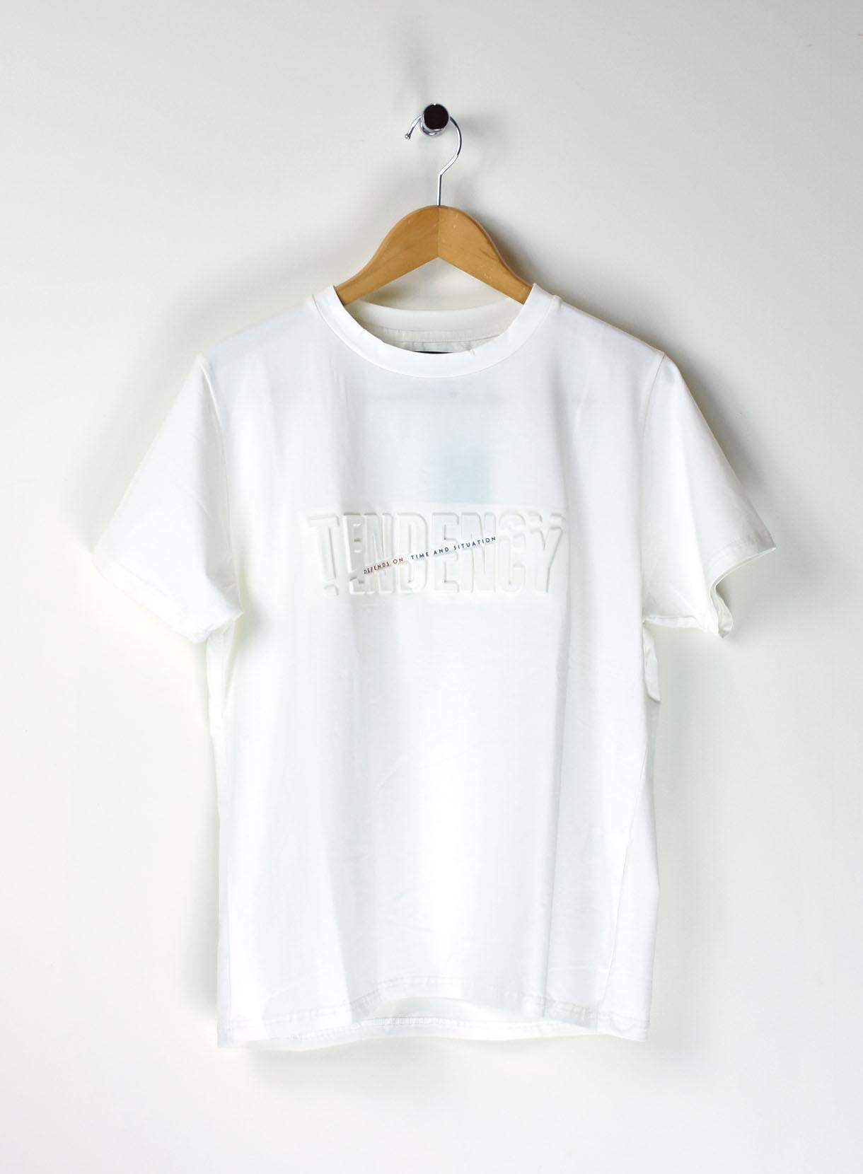 JUKEBOXエンボス×プリントTシャツ