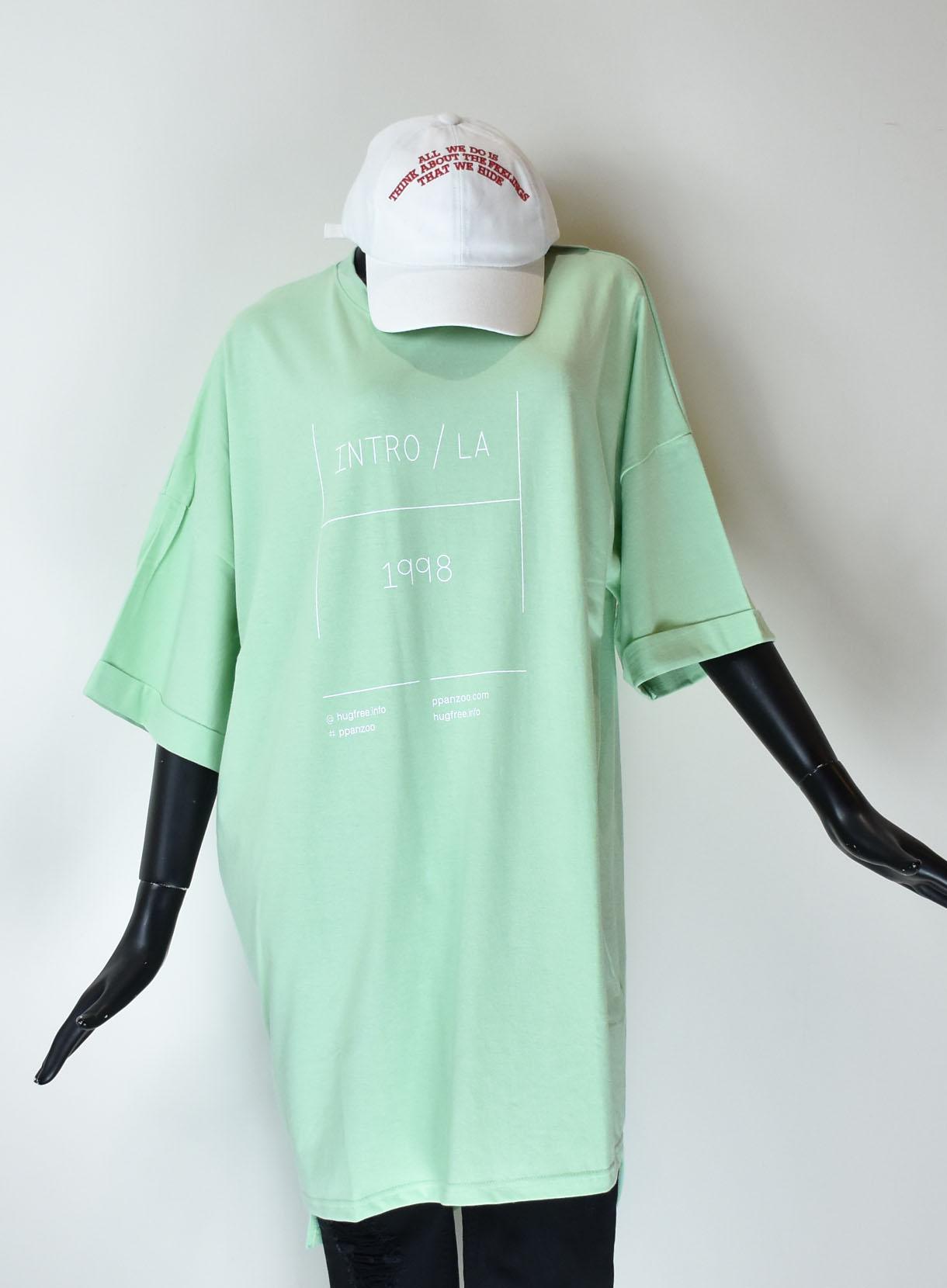 ROGER&RAW 刺繍ロングTシャツ