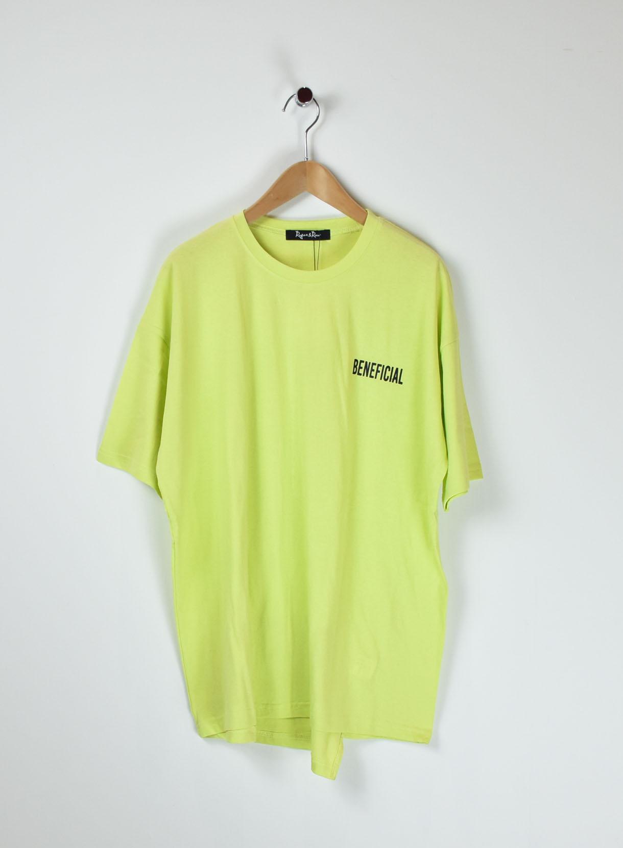ROGER&RAW ルーズロゴTシャツ