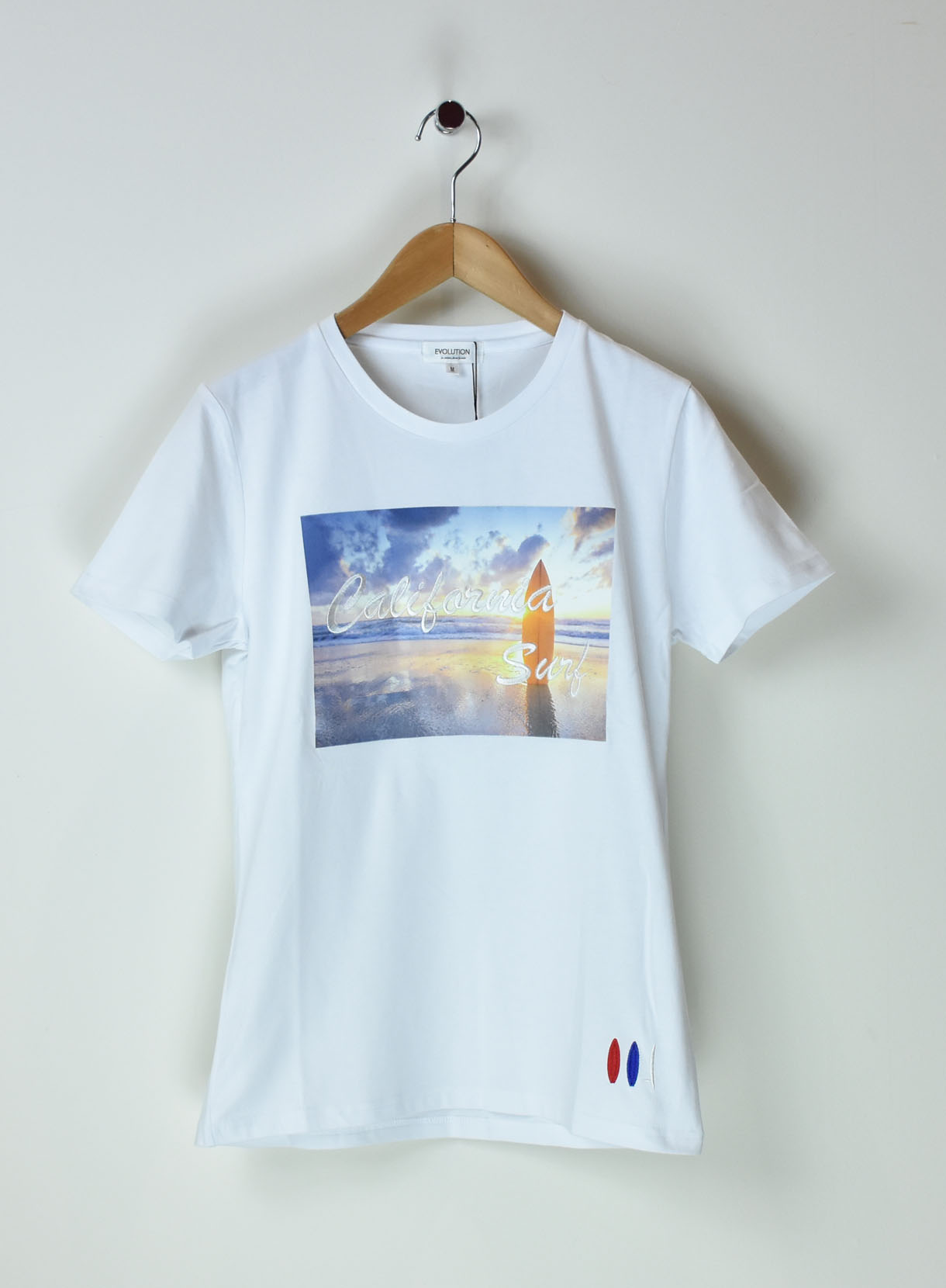 サンセット刺繍Tシャツ