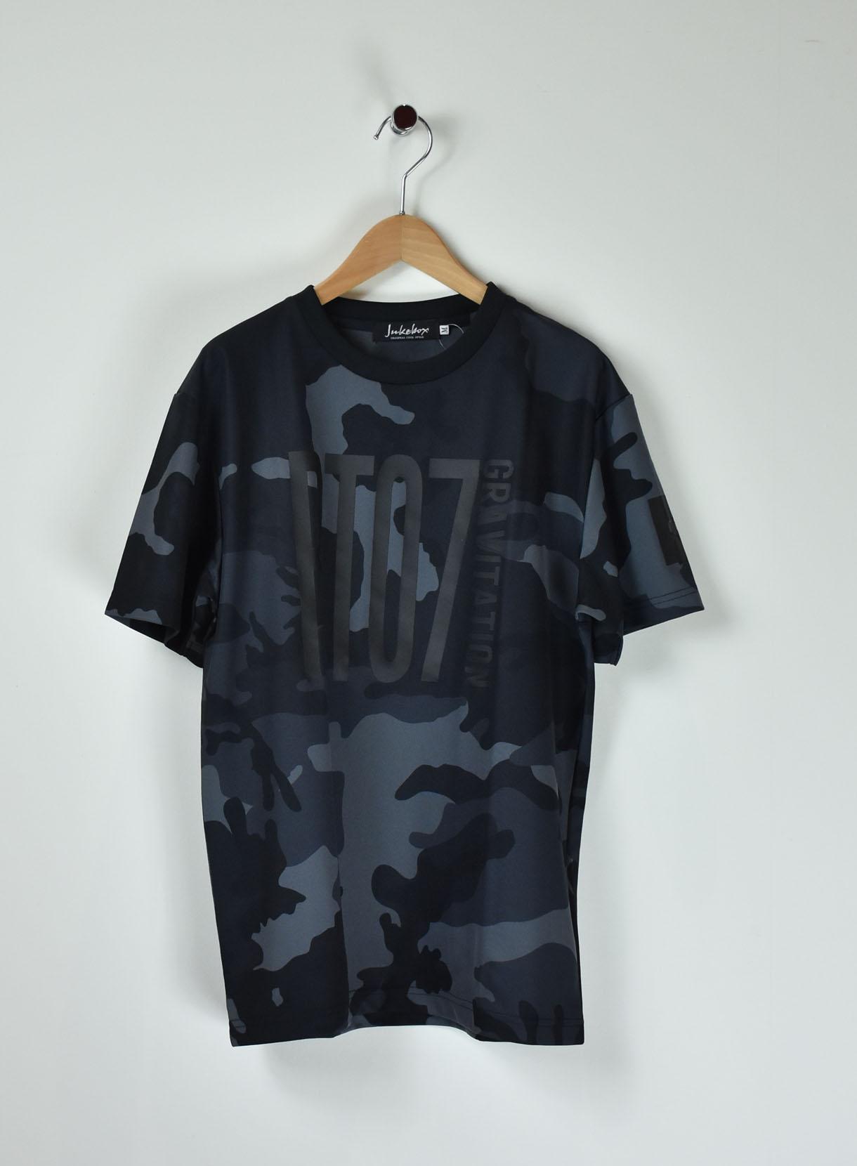 JUKEBOX ドライアスレチックカモフラTシャツ