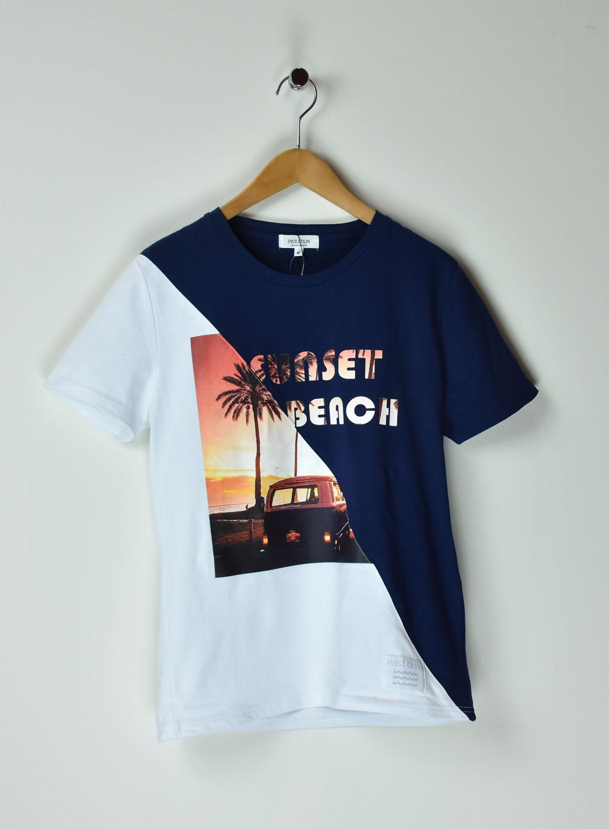 スレイトサンセットTシャツ