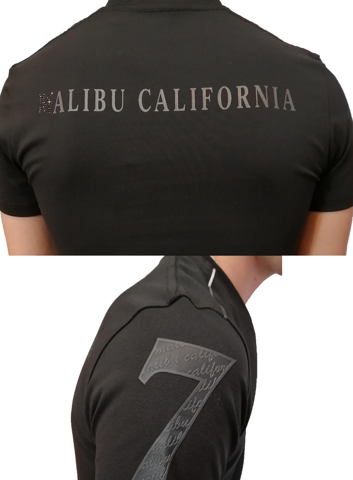 VIOLAバックロゴVネックTシャツ