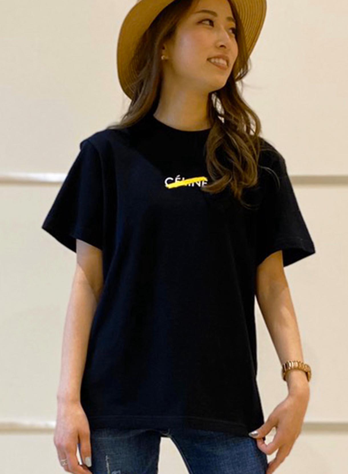 33℃ CE××LINE刺繍カットソー(ユニセックスモデル)