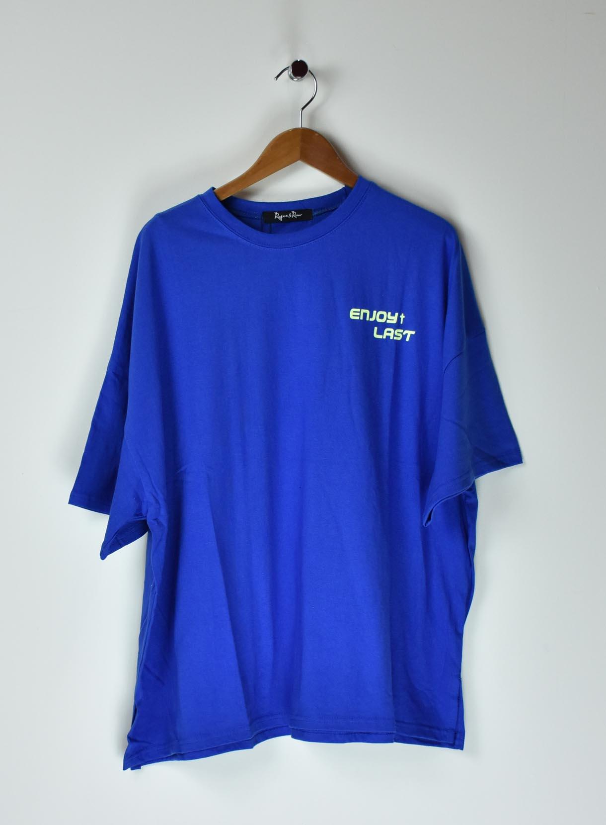 ROGER&RAWビッグロゴTシャツ
