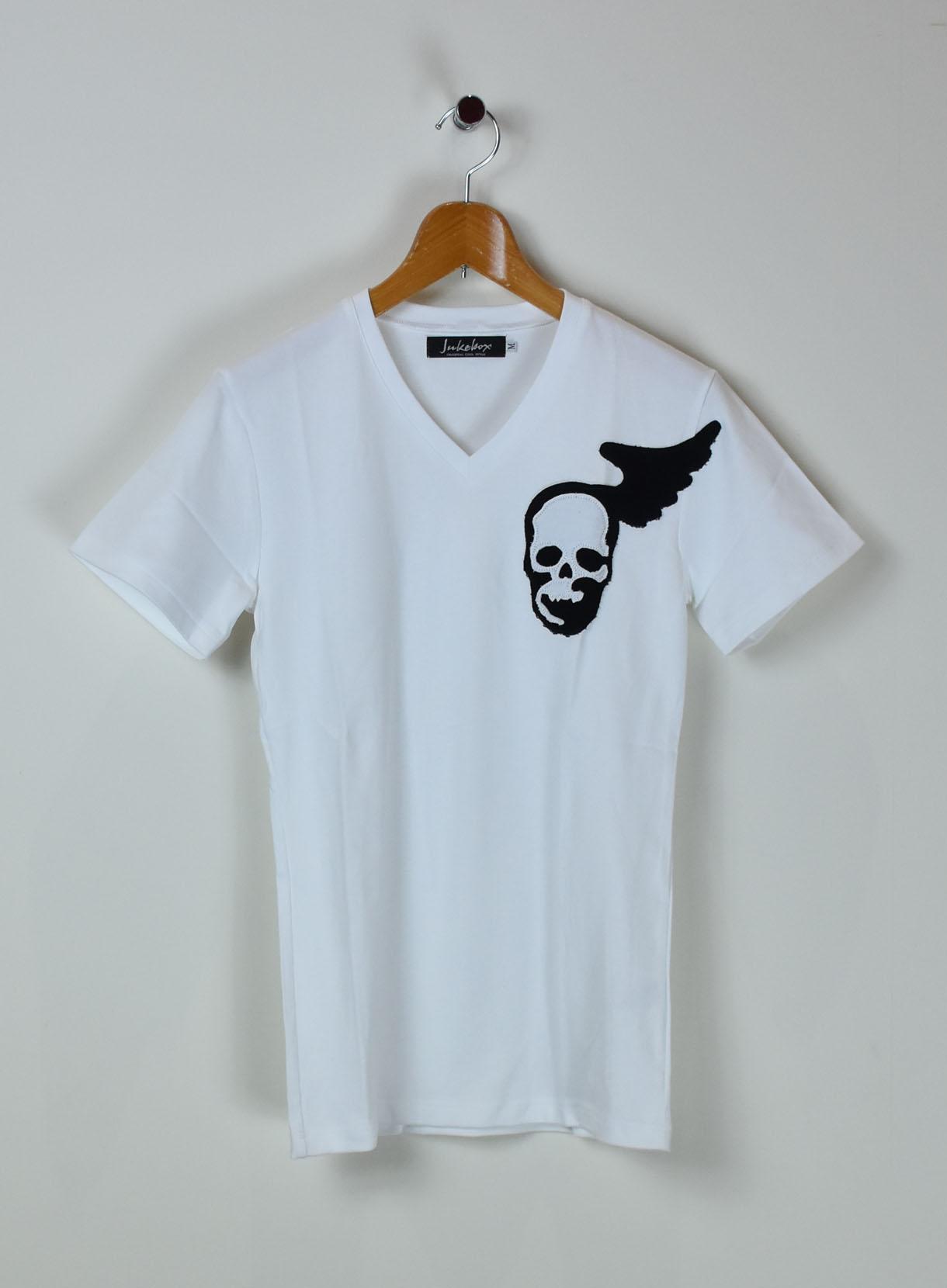 JUKEBOX SKULL Wing Tシャツ