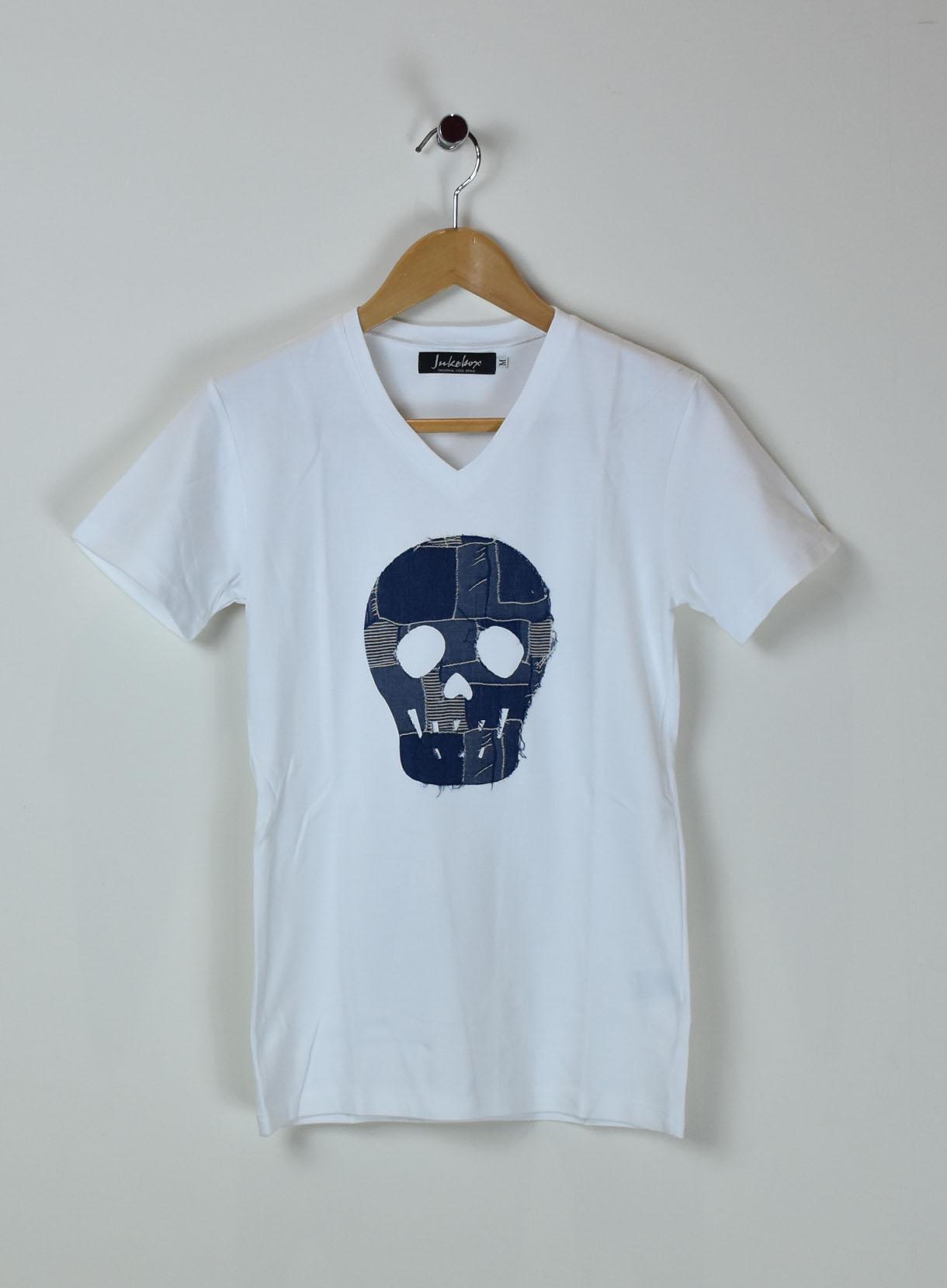 JUKEBOX DENIM on SKULL Tシャツ