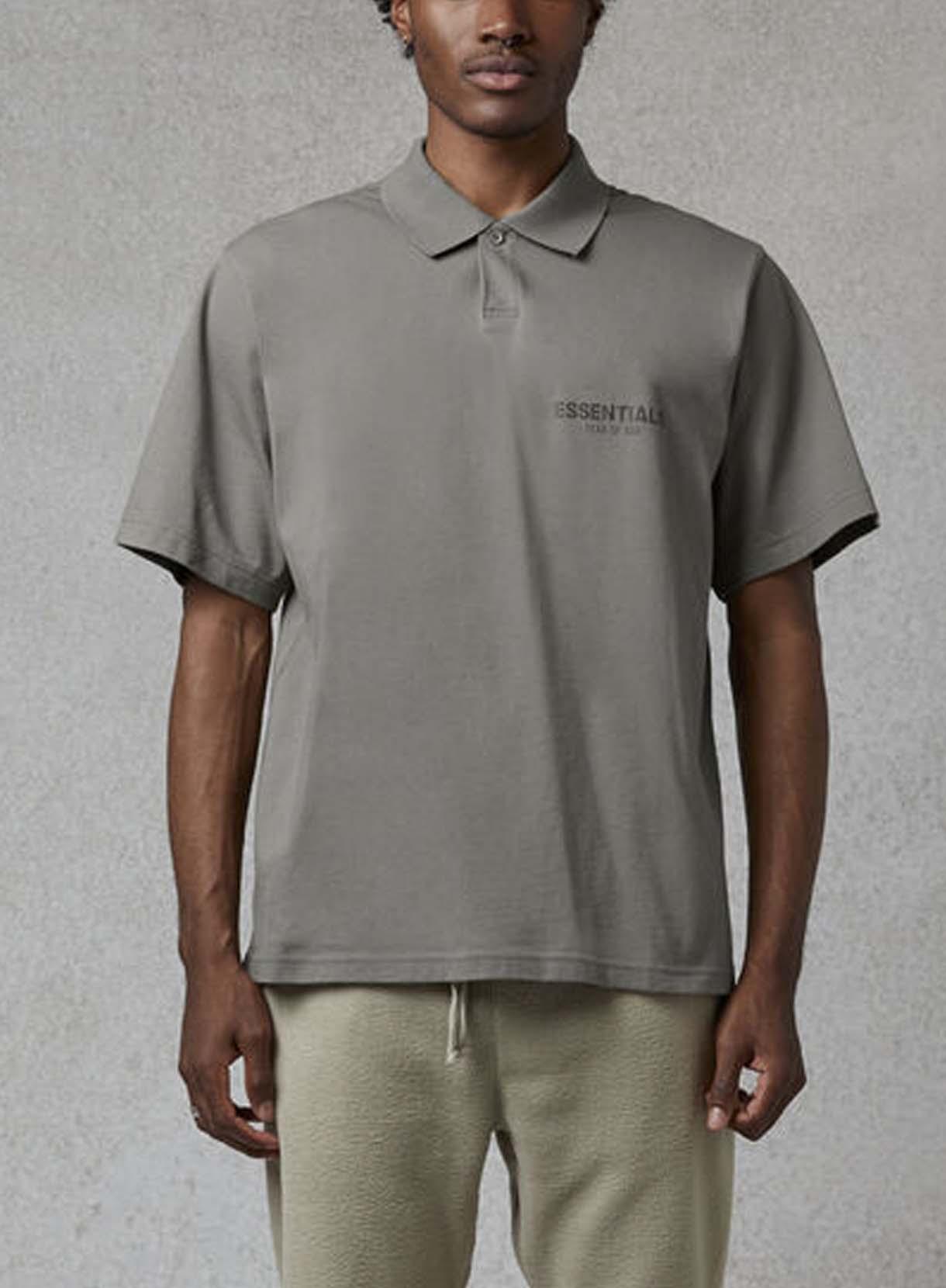 ESSENTIALS BIG S/S ポロシャツ