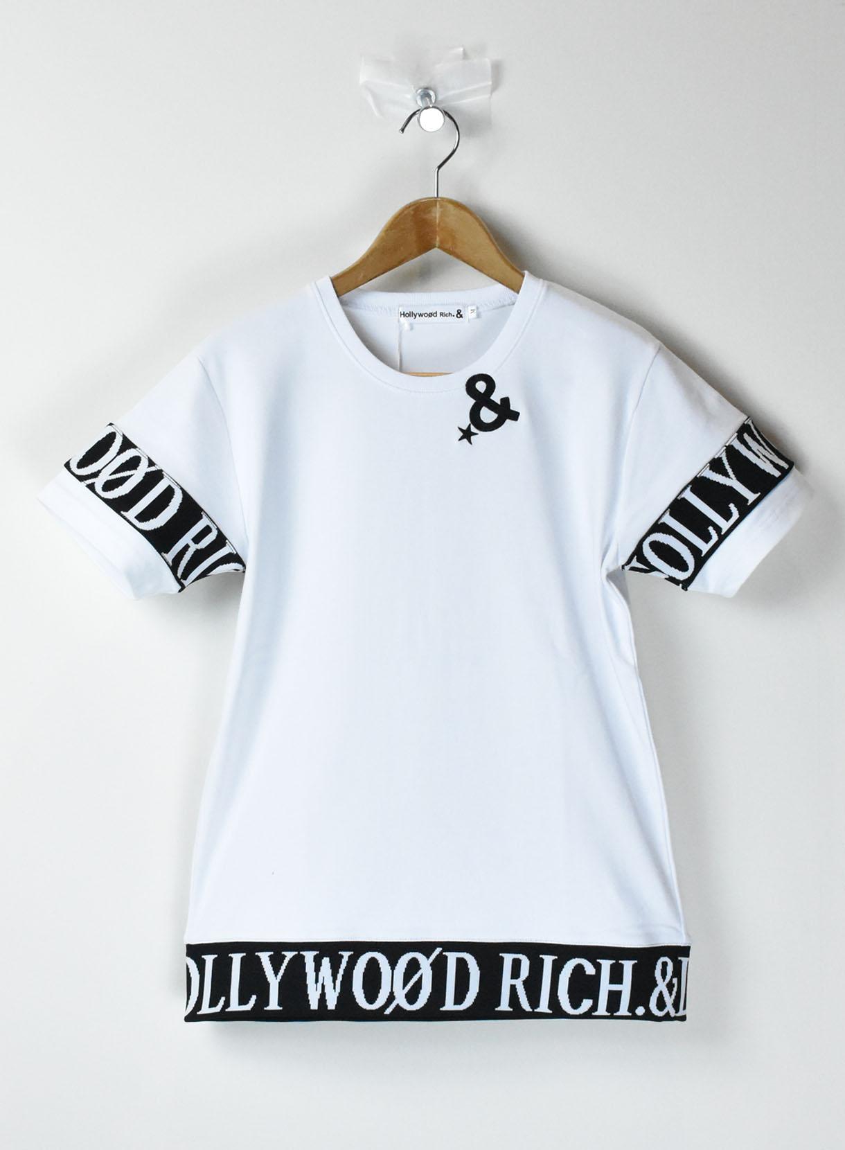 刺繍BACKプリントTシャツ