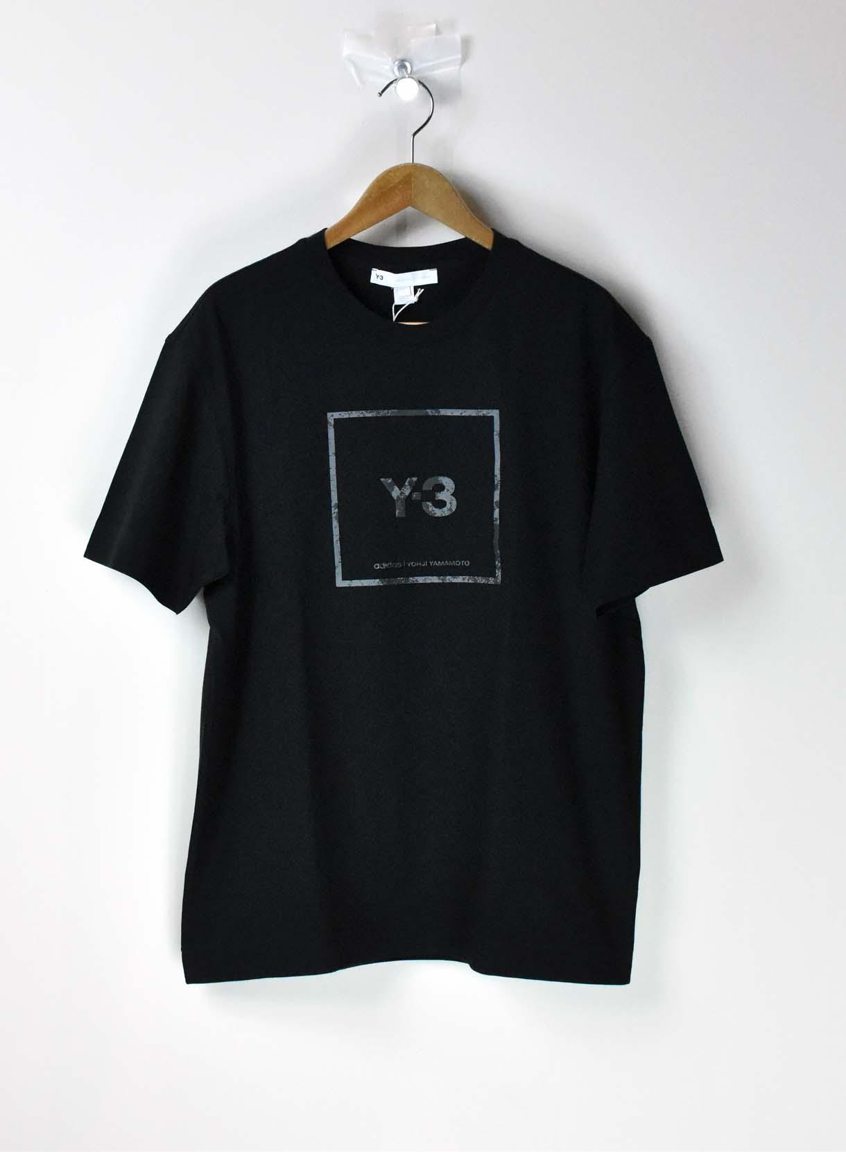 Y-3  ワイスリー BOX ロゴ  クルーTシャツ YOHJI YAMAMOTO