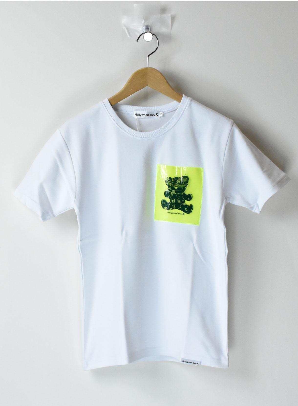 パンクベア蛍光POCKETTシャツ